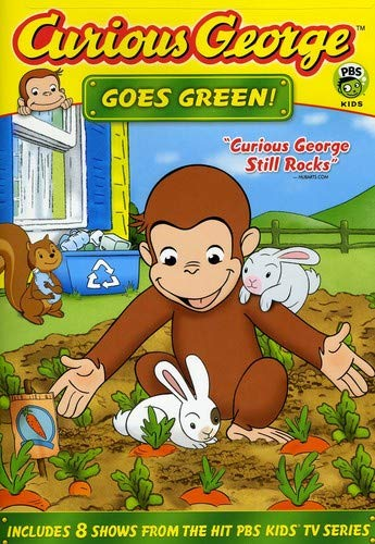 (Curious George Goes Green)