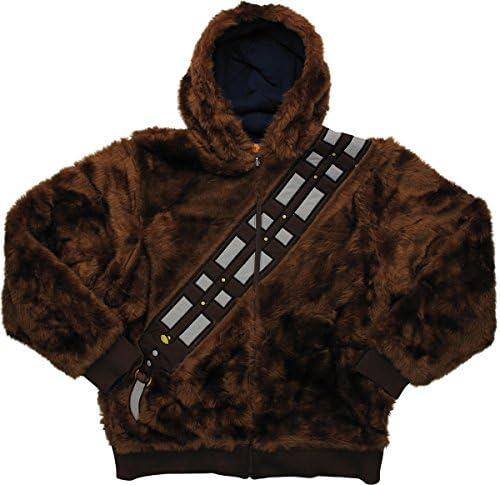 Philcos Star Wars Chewbacca Han Solo Reversible Hoodie