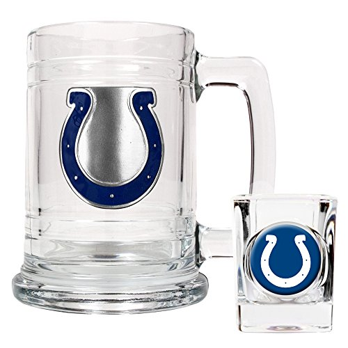 NFL Indianapolis Colts Boilermaker Set (Primary Logo)