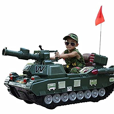 vory Kids Ride on Cars,Electric car for Kids Ride on ,Children Ride Cars,Child Ride on Electrical Tank RC Tank: Toys & Games