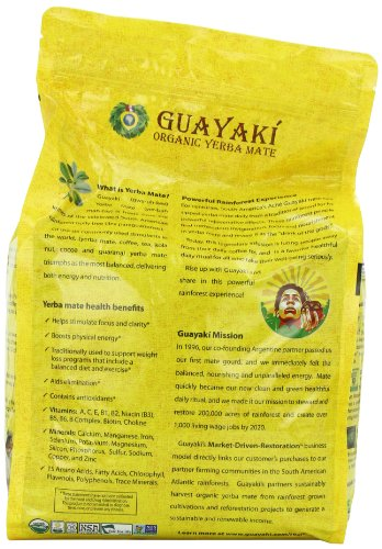 Guayaki Traditional Yerba Mate Tea, 5 Pound 4 Yerba mate was discovered centuries ago by the indigenous people in South America and has been consumed to enhance vitality, clarity, and well-being. With