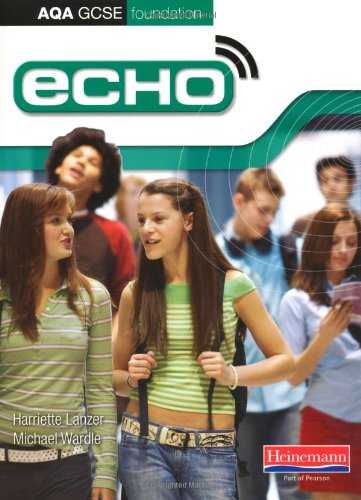 Echo AQA GCSE German Foundation Student Book