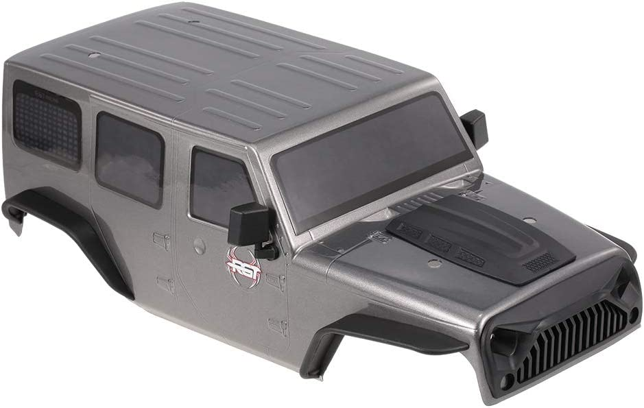 Goolsky RGT Carcasa del Cuerpo para 1/10 RGT 86100 HSP HPI Traxxas Redcat RC4WD Tamiya Jeep Wrangler RC Crawler Car DIY