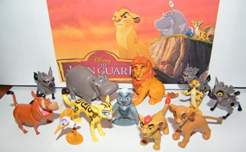 disney-the-lion-guard-deluxe-party-favors-goody-bag-fillers-set-of-13-figures-with-the-5-lion-guard-