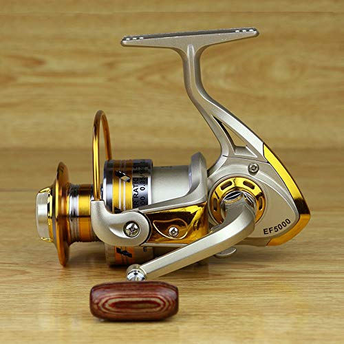 - YOZOOE Metal Rocker Fishing Reel Fishing Reel Spinning Fish Fishing Gear (Size : EF6000)
