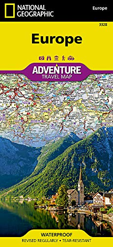 Europe (National Geographic Adventure Map) (Map Of Europe)