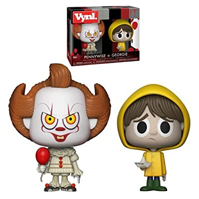 It Pennywise and Georgie VYNL Figure 2-Pack: Toys & Games