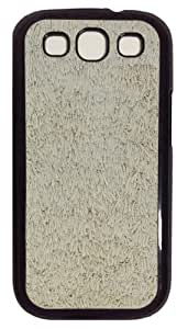 Black Carpet Fur Texture PC Case Cover For Samsung Galaxy S3 SIII I9300 Black