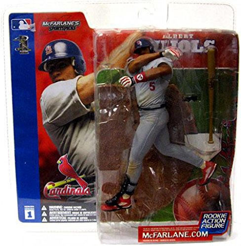 McFarlane Toys MLB Sports Picks Series 1 Action Figure Albert Pujols (St. Lou... ()