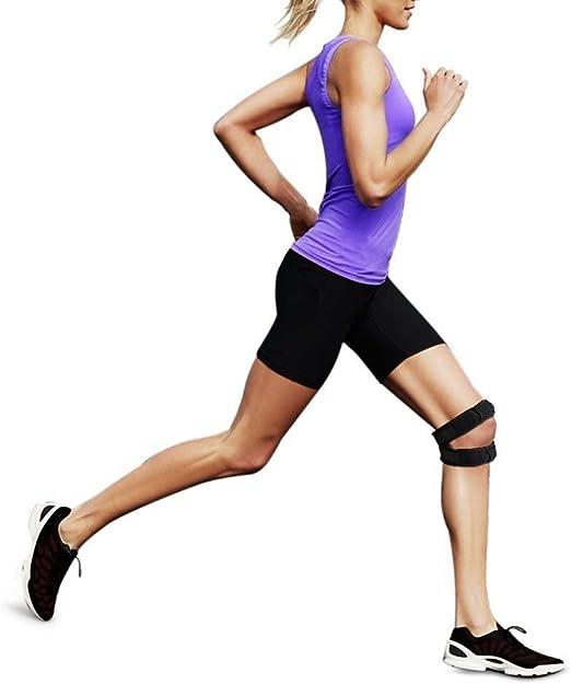 Rodillera ajustable deportiva para correr y caminar,elástico ...