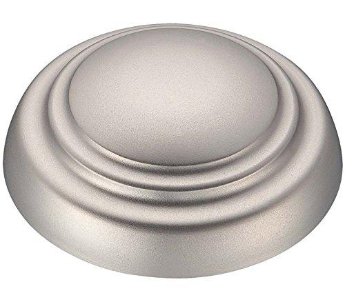 DR12BS Ceiling Fan Downrod, 12-Inch, Brushed Steel