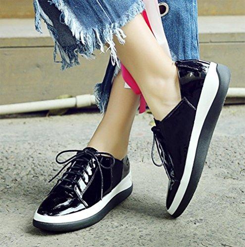 la mujeres MEI caen bajo de torta las UK3 los flojos zapatos con zapatos EU35 US5 5 ocasionales deportes 5 gruesos zapatos los CN35 de de con zapatos rr8Rq
