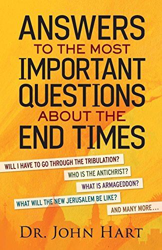 - Answers to the Most Important Questions About the End Times: Will I have to go through the tribulation?   Who is the Antichrist?   What is Armageddon? ... the New Jerusalem be like?   And many more
