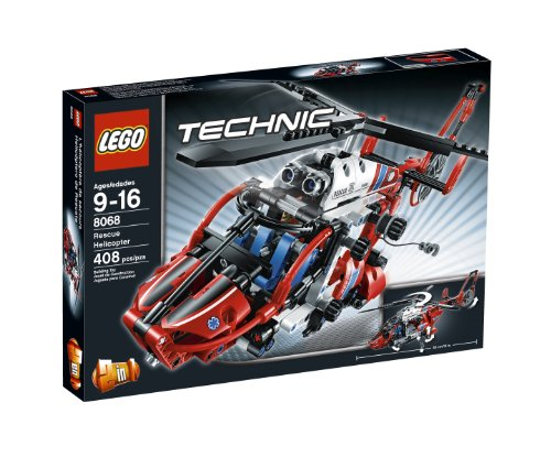 LEGO Technic Rescue Helicopter 8068 (Rescue Helicopter Lego)