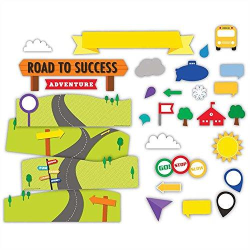 Eureka Learning Adventure Road to Success Mini Bulletin Board Set (847536) (Adventure Bulletin Board Set)