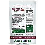 Biofinest Beetroot Juice Powder -100% Pure Beet Root Powder - Antioxidant Superfood - USDA Organic Vegan Raw Non-GMO - Boost Stamina & Digestion - for Smoothie Beverage Blend (4 oz Resealable Bag)