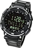 [Lad Weather] Smartwatch for iPhone and Android with Sleeping Monitor/Cellphone Camera Shutter/Phone Call Email Message Event APP Notice/Calories/Pedometer/SOS Call