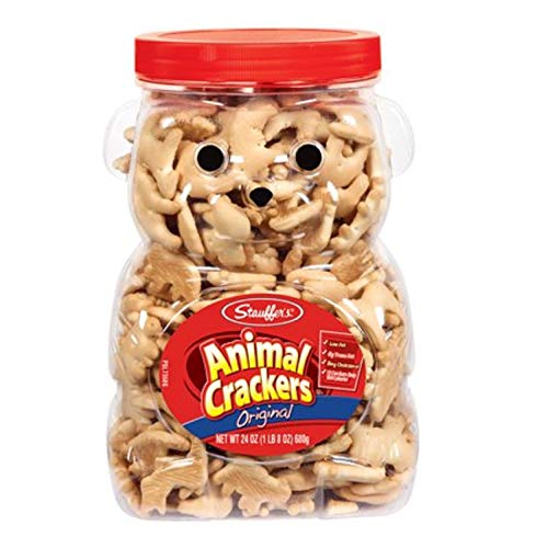 - Stauffers Original Animal Crackers 24 oz. Bear Jug (2 Containers) (Original Version) (Original Version)