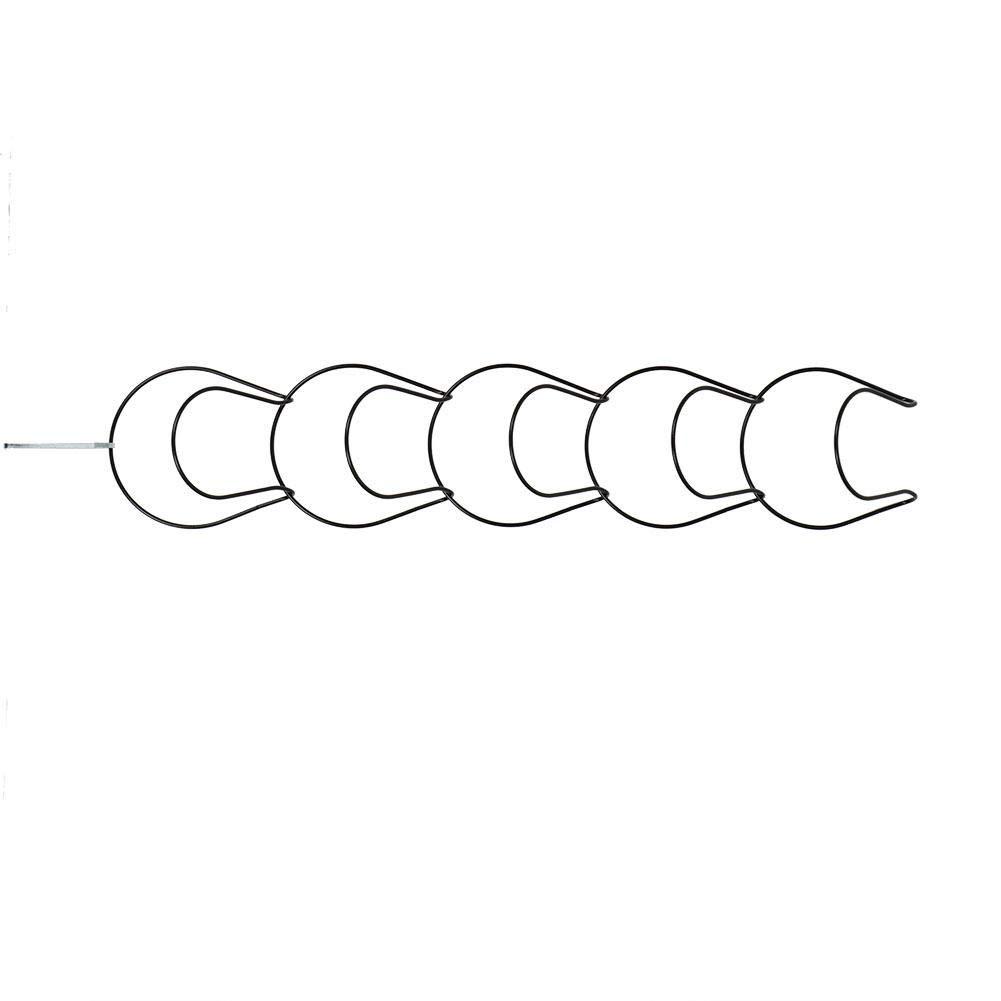 Armadio e Parete Cafopgrill Supporto per Berretto da Baseball Nero Archiviatore per Cappelli Appendiabiti Multi-Strato con Gancio per Appendiabiti Rack Organizer per Ganci per Porta