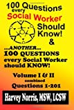 100 Questions - Combined Volume 1-2, Harvey Norris, 1470038374