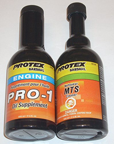 Bardahl Protex 93408-S Pro-1 Oil Supplement Flush Kit 2pk by Unknown