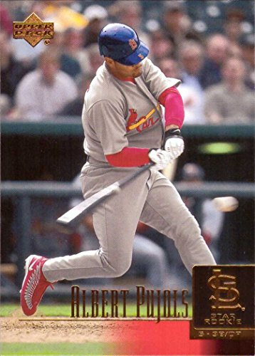 2001 Upper Deck Baseball #295 Albert Pujols Rookie Card (Rookie Card Pujols Albert)