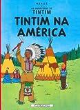 capa de Tintim - Tintim na América