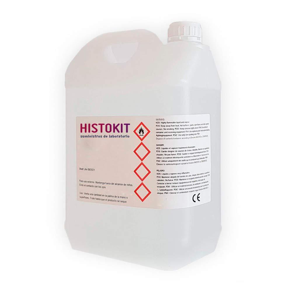 Alcohol 96 garrafa 5 litros HISTOKIT