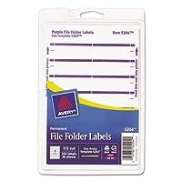 AVE05204 - Avery Imprimir o escribir etiquetas de carpetas de archivos