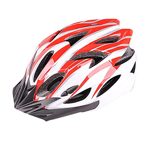 Christmas Hot Sale!!!Kacowpper Adult Cycling Bike Helmet Specialized for Men Women Safety Protection (11 Colors) Adjustable Lightweight Helmet with Reflective Stripe (21 Best Guns For Home Protection)