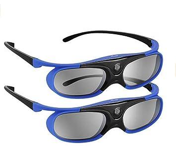 Gafas 3D Jx-30 Gafas 3D con Obturador Activo Dlp-Link 96Hz / 144Hz ...