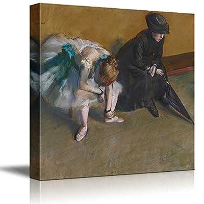 Waiting by Edgar Degas Small