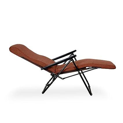 Furlay Recliner Chair Teak Brown