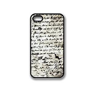 CellPowerCasesTM Vintage Paper iPhone 4 Case - Fits iPhone 4 & iPhone 4S