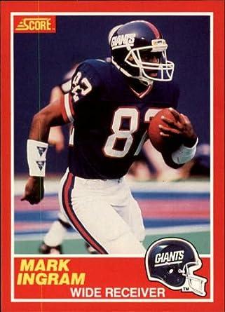 Amazoncom 1989 Score Football Rookie Card 204 Mark Ingram Near
