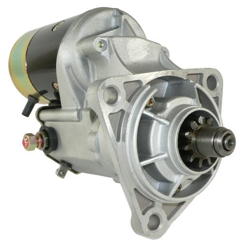 Belt Alternator Starter (DB Electrical SND0267 24V Starter For Hitachi Excavator, Link-Belt LS2800 Isuzu 6BD1 Engine /LS3400 Isuzu 6BG1 Engine /1811001910, 1811002531, 181100-191-0, 181100-191-1, 181100-253-0, 181100-253-1)