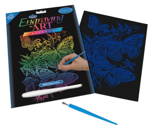 Engraving Art Royal (Royal and Langnickel Rainbow Engraving Art, Butterflies)
