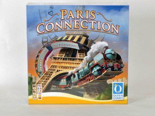 Queen Games Paris Connection Multi Language Board Game