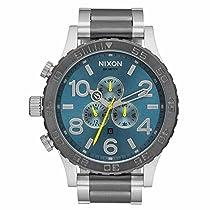 NIXON(ニクソン)腕時計 51-30 クロノグラフ A083-2304 Blue/Gr...