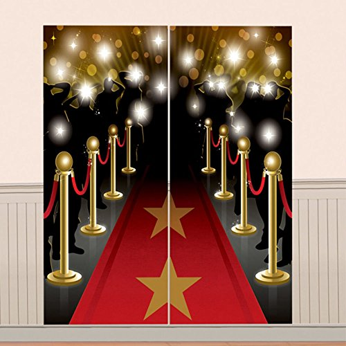 - Hollywood Scene Setters Wall Decorating Kits, 6 Ct