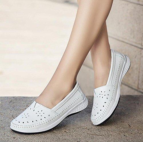 Zapatos Zapatos de 2018 de Zapatos Guisantes Zapatos c Verano Mujer Ocasionales de qARnTCwvp