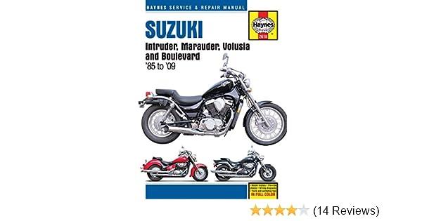 amazon com haynes motorcycle repair manual 2618 automotive rh amazon com Thermostat for a 2007 Suzuki Reno 2003 suzuki volusia service manual