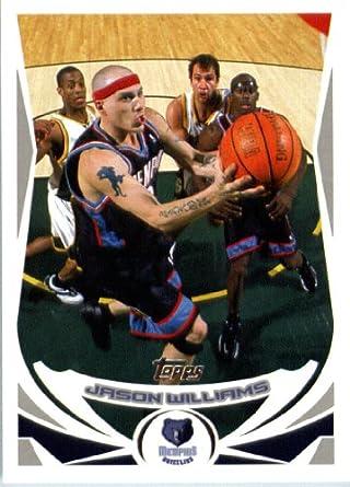 cff55e023ba6 2004 05 Topps Basketball Card  197 Jason Williams Memphis Grizzlies