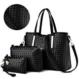 Best Fashion Tote Purses - Bonice Women Fashion PU Leather Handbag + Shoulder Review