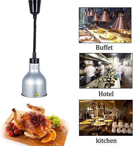 LCNING 250W Speisen Wärmelampe Restaurant Küche Buffet Essen Wärme Warming Hängelampe (Farbe : 3)