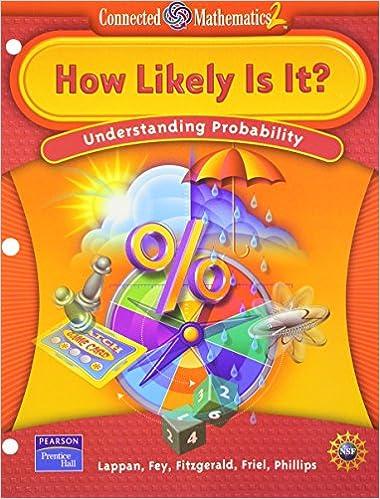 How likely is it understanding probability connected mathematics 2 how likely is it understanding probability connected mathematics 2 by prentice hall fandeluxe Gallery