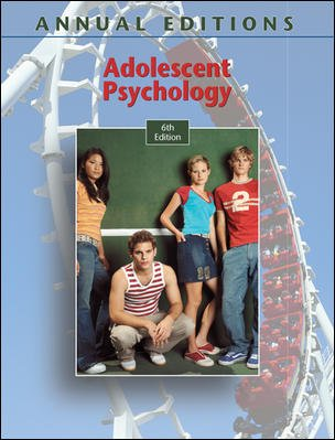 Adolescent Psychology, 6th Edition (Annual Editions) -