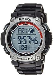 Armitron Sport Men's 40/8252BLK Black Digital Chronograph Watch