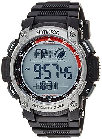 Armitron Sport Men's 40/8252BLK Black Digital Chronograph Watch (Armitron Sports 50)