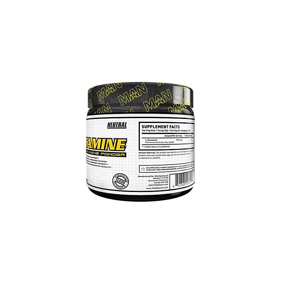 MAN Sports 100% Pure L Glutamine Powder
